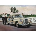 "Slot Classic CJ-53 Mercedes-Benz W180 II 220S ""Ponton"" 6th East African Coronation Rally 1958 n.26"