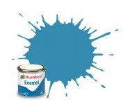 Humbrol AA0521 No. 48 Mediterranean Blue Gloss - 14ml Enamel Paint