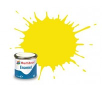 Humbrol AA1095 No. 99 Lemon Matt - 14ml Enamel Paint