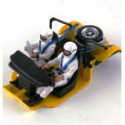 LE MANS miniatures Set of Rallye drivers