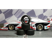 Paul Gage PGT-CAR-124-CAPRI Urethane Tires Carrera D124 Ford Capri Zakspeed Turbo (2 pcs)