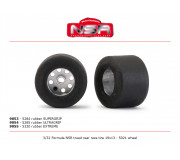 NSR 9054 3/32 Formula trued rear race tire ULTRAGRIP 19x13 (2 pcs)
