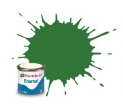 Humbrol AA1448 No. 131 Mid Green Satin - 14ml Enamel Paint