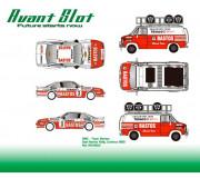 Avant Slot RSV2103 GMC – Team Bastos + Opel Manta Rally Condroz 1985