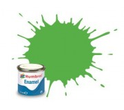 Humbrol AA7081 No. 208 Fluorescent Signal Green Gloss - 14ml Enamel Paint