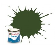 Humbrol AA2242 No. 242 RLM 71 Dunkelgrun Matt - 14ml Enamel Paint