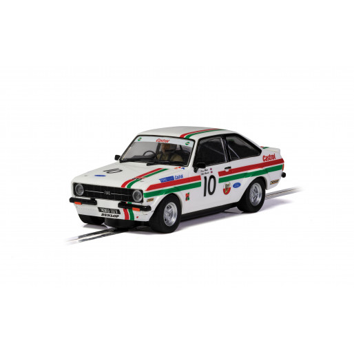 Scalextric C4208 Ford Escort MK2 - Castrol Edition - Goodwood Members Meeting