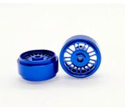 STAFFS37 16.9 x 8.5MM Blue BBS Style Alloy Wheels (Front) (2 pcs)