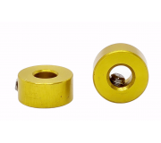 STAFFS75 Stoppers Alloy Gold (2 pcs)