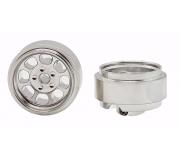 STAFFS77 Classic 15.8 x 8.5mm Alloy Wheel (2 pcs)