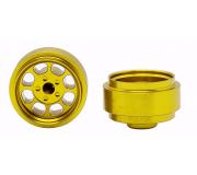 STAFFS79 Classic 15.8 x 8.5mm Alloy Gold Wheel (2 pcs)