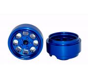 STAFFS80 Classic 15.8 x 8.5mm Alloy Blue Whell (2 pcs)
