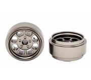 STAFFS82 Classic 15.8 x 8.5mm Alloy Grey Wheels (2 pcs)