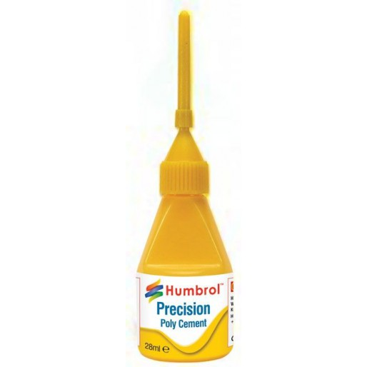 Humbrol AE2610 Precision Poly Cement - 28ml Bottle