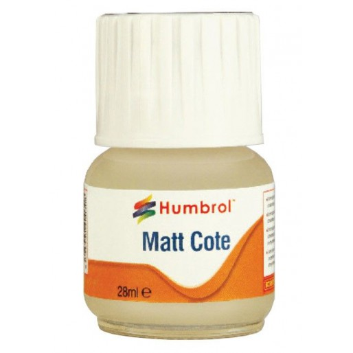 Humbrol AC5601 Modelcote Matt Cote - 28ml Bottle
