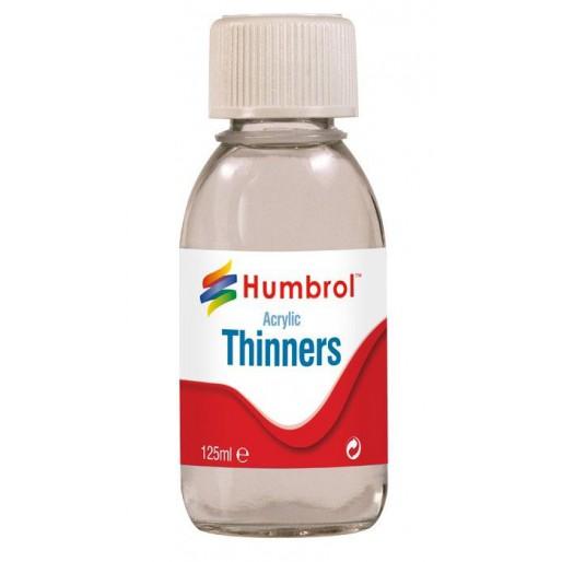 Humbrol AC7433 Acrylic Thinners - 125ml Bottle