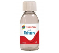 Humbrol AC7433 Acrylic Thinners - 125ml Bottle