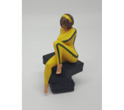 NonnoSlot Figurine Girl02 Peinte