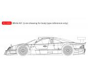 RevoSlot RS0093 Mercedes-Benz CLK GTR - No.10 Warsteiner