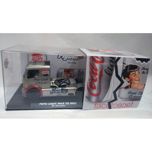 Flyslot 202305 Mercedes Benz Nogaro Pepsi Light Face to Face 50th Anniversary