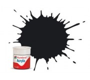 Humbrol AB0021 No. 21 Black Gloss - 14ml Acrylic Paint