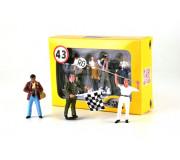 LE MANS miniatures Box of 3 painted figures