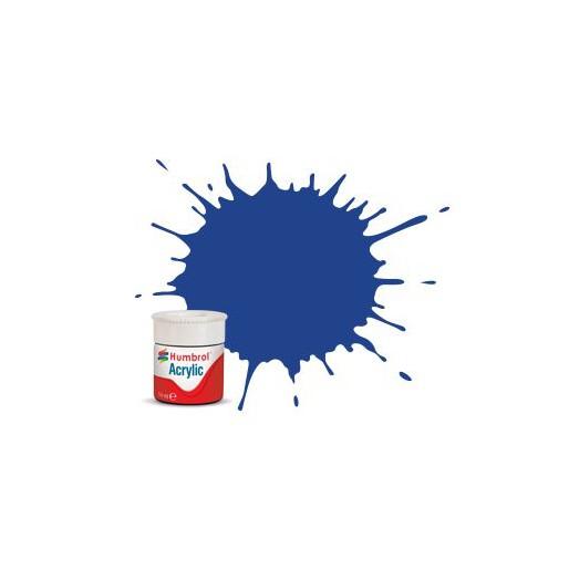 Humbrol AB0025 No. 25 Bleu Matt - 14ml Peinture Acrylique