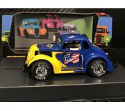 Pioneer P129 '37 Dodge Legends Racer, Sunoco n.14, blue/yellow