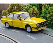 "TEAMSLOT PDVB1013002 Ford Escort MKII RS2000 X-Pack ""Daytona Yellow"""