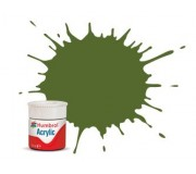 Humbrol AB0088 No. 88 Deck Green Matt - 14ml Acrylic Paint