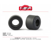 NSR 5265BLACK Special RTR Slick Rear for Formula 86/89 - 19.5x13 - Low Profile - Racing tyres (4 pcs)