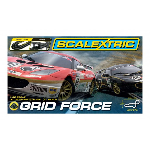 Scalextric Coffret Grid Force