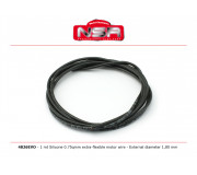 NSR 4826EVO Silicone Motor wire - Extra-flexible motor wire - External diameter 1,80 mm