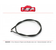 NSR 4825EVO Silicone Motor wire 30cm - Extra-flexible motor wire - External diameter 1,80 mm