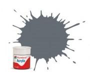 Humbrol AB0123 No. 123 Extra Dark Sea Grey Satin - 14ml Acrylic Paint