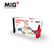 MIG Productions MP35-104 Checkpoint Set Modern Conflicts 1/35