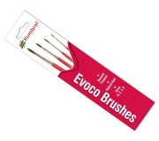 Humbrol AG4150 Pack de Pinceaux Evoco
