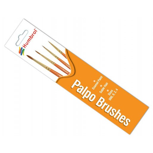 Humbrol AG4250 Palpo Brush Pack