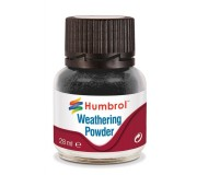 Humbrol AV0001 Weathering Powder Black - 28ml
