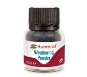 Humbrol AV0004 Weathering Powder Smoke - 28ml