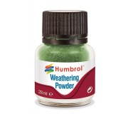 Humbrol AV0005 Weathering Powder Chrome Oxide Green - 28ml