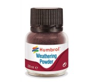 Humbrol AV0007 Weathering Powder Dark Earth - 28ml
