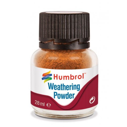 Humbrol AV0008 Weathering Powder Rust - 28ml