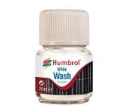 Humbrol AV0202 Enamel Wash White - 28ml Enamel Paint