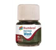 Humbrol AV0203 Enamel Wash Dark Green - 28ml Enamel Paint