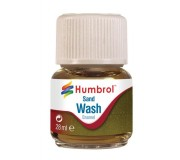 Humbrol AV0207 Enamel Wash Sand - 28ml Enamel Paint