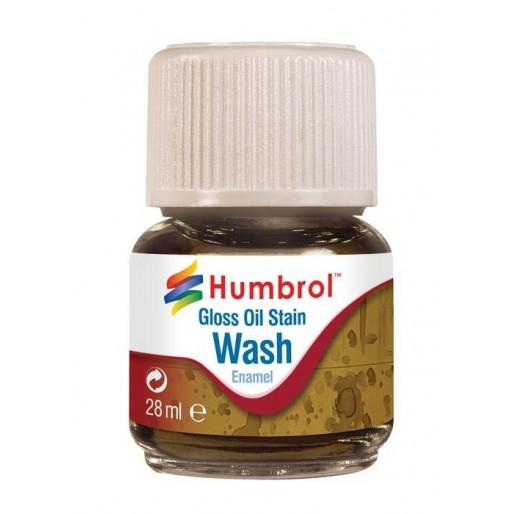 Humbrol AV0209 Enamel Wash Oil Stain - 28ml Enamel Paint