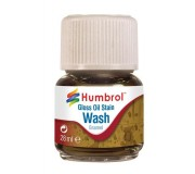 Humbrol AV0209 Enamel Wash Oil Stain - 28ml Enamel Paint