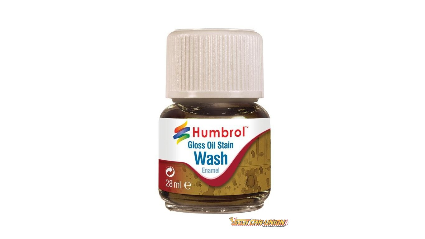 Humbrol Av0209 Enamel Wash Oil Stain 28ml Enamel Paint Slot Car Union
