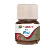 Humbrol AV0210 Enamel Wash Rust - 28ml Enamel Paint